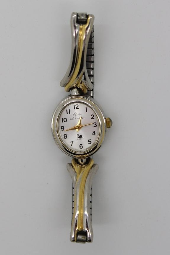 7: Vintage Gloria Vanderbilt Stainless Steel Watch