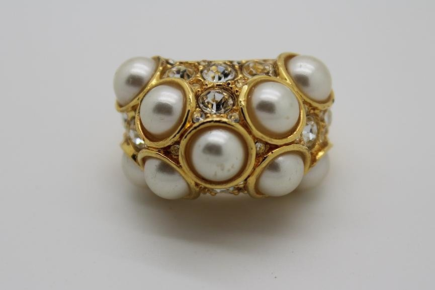9: Kenneth Jay  Lane Large Dome Ring