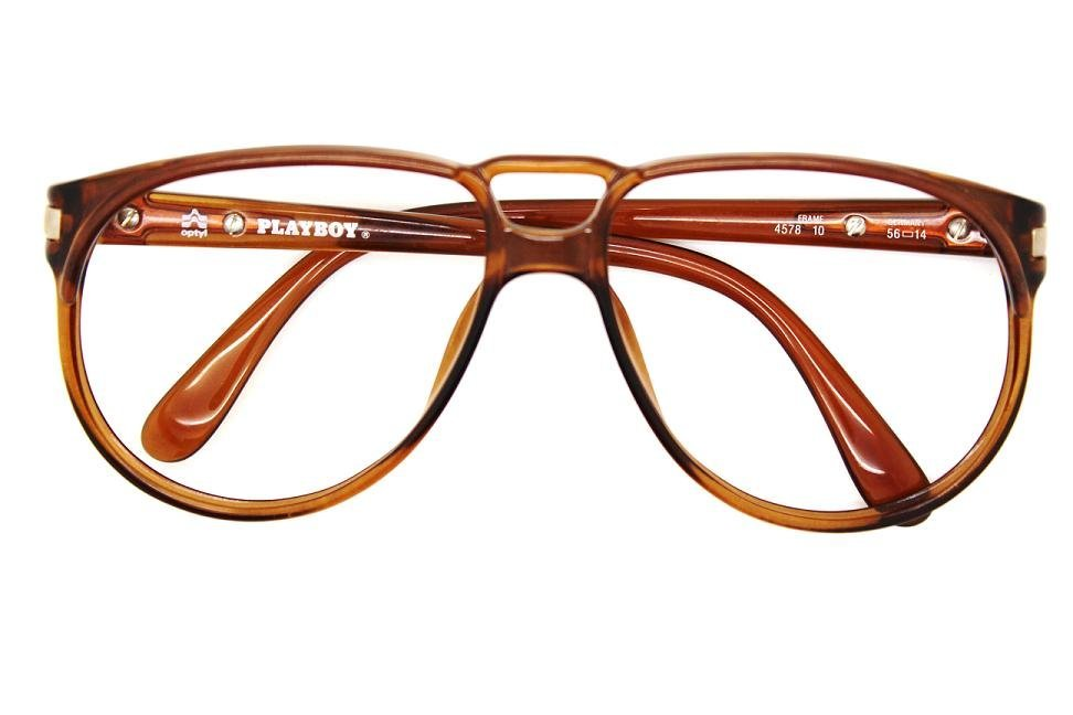 14: Vintage 80's Playboy Unworn Aviator Frame Glasses