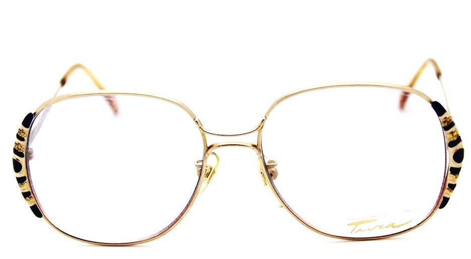 24: Vintage BlueTura Metal Frame Sunglasses