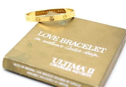 1970 Gold Cartier LOVE Charles Revson Bracelet