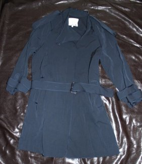 3.1 PHILLIP LIM BLUE TRENCH JACKET