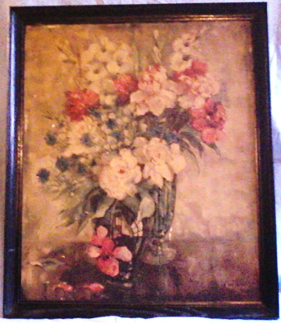 Ann Cochran - Bouquet of Flowers in Bloom - 1944