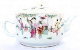 Tongzhi Reign Period Teapot - Qing Dynasty