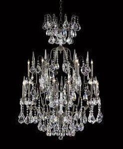Versailles Antoinette -Eighteen Light 2-Tier Chandelier