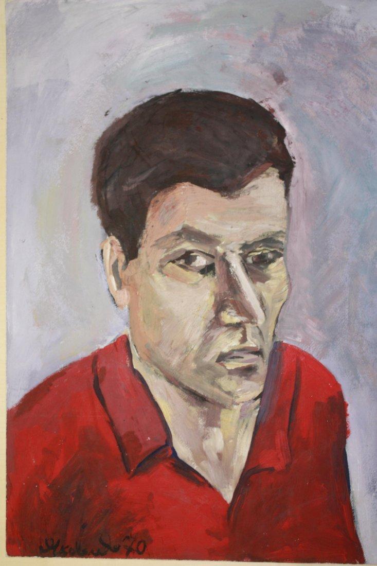 Vladimir Igorevich Yakovlev- Portrait Gennady Aigi 1970