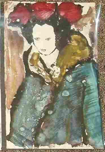 Sidnee Livingston Untitled Monotype - 1960's