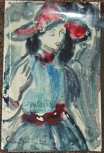 Sidnee Livingston Untitled Monotype - 1960's