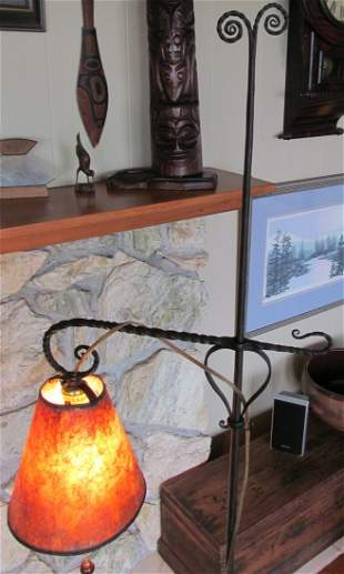 Samuel Yellin Floor Lamp