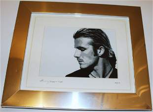 David Beckham Canvas Print - Bradley J. Cooper