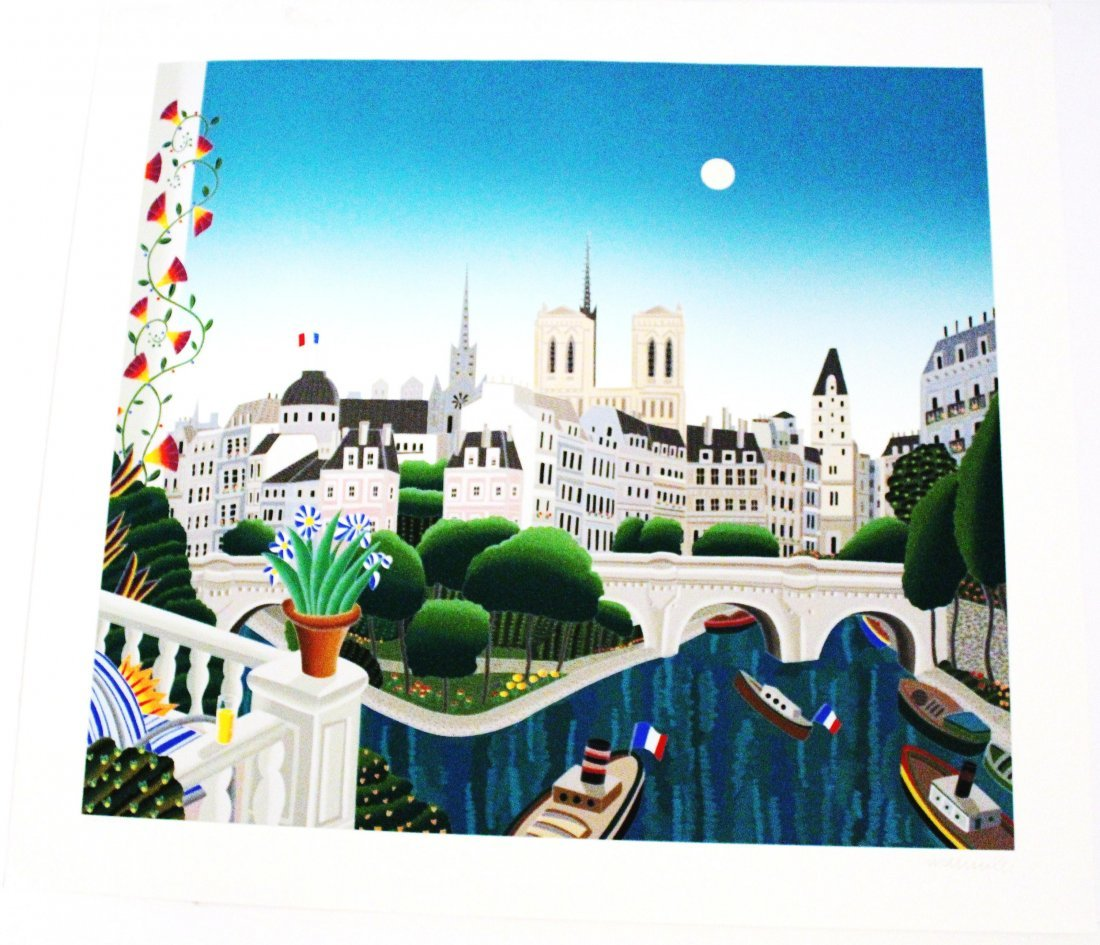 Thomas McKnight - Paris - Silkscreen