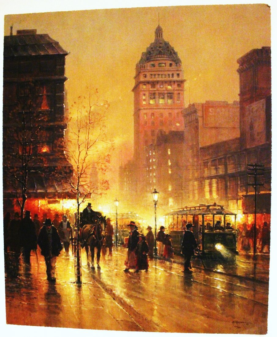 "G. Harvey  ""Lights of San Francisco"""