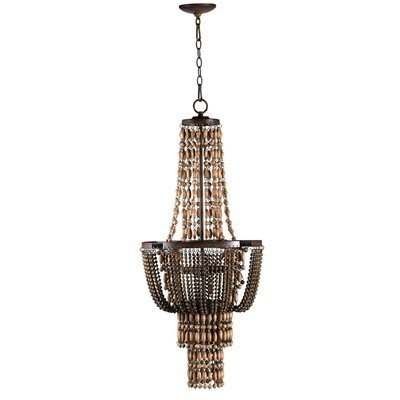 4 Light Duchess Large Pendant, Rust -  $2,558.51
