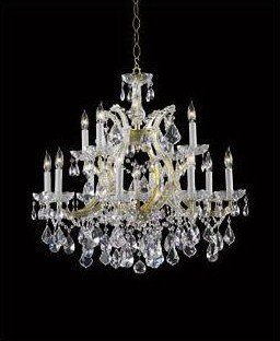 Maria Theresa - Thirteen Light 2-Tier Chandelier