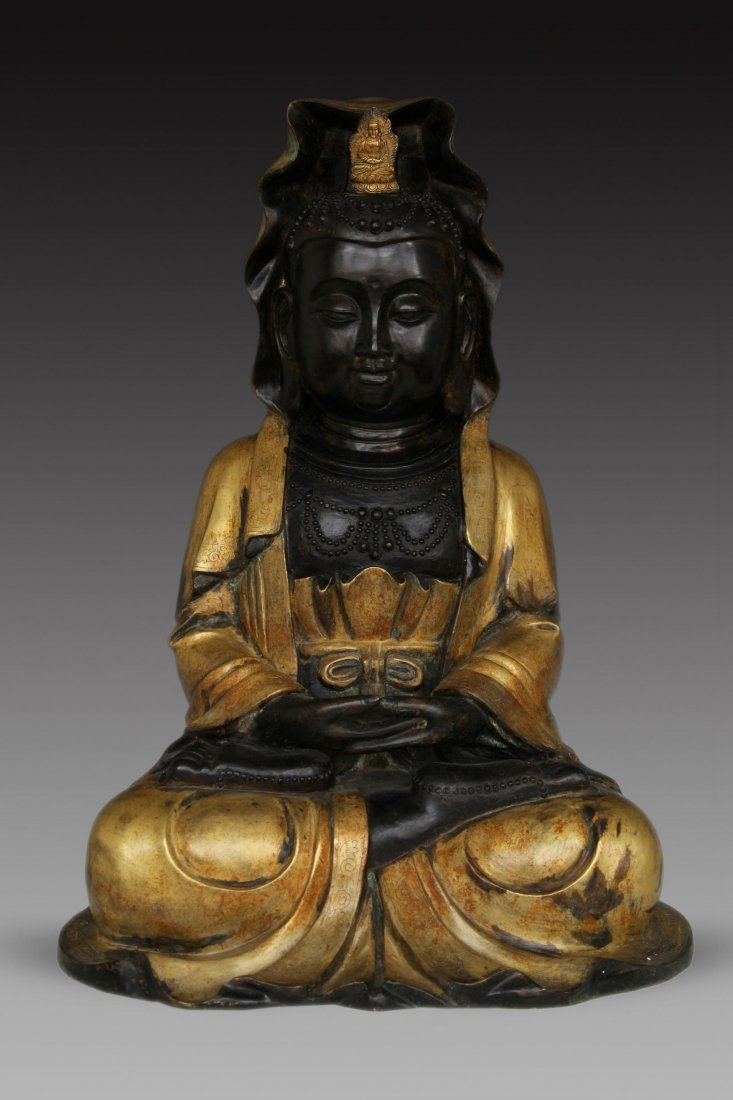 Asian Bronze Figure