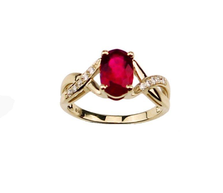 MILANO Garnet Ring