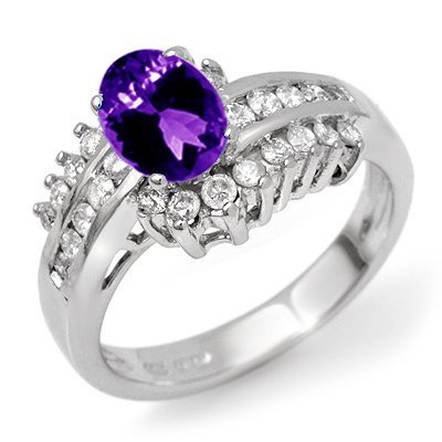MILANO Peace Amethyst Ring