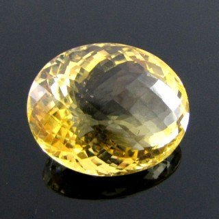 Citrine Oval Shape Single Gem Piece