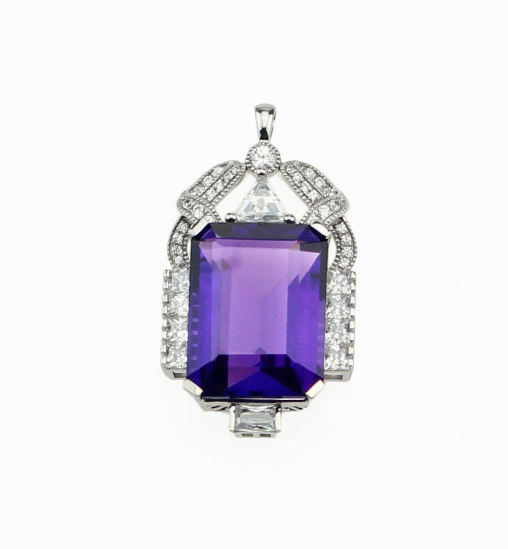 ROYAL Amethyst Pendant