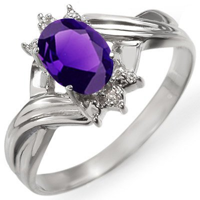ROYAL Twist Amethyst Ring