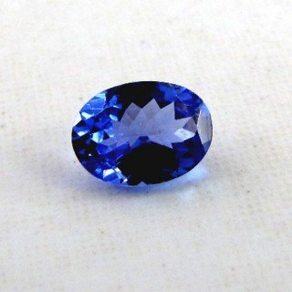 Tanzanite Oval Shape Single Gem Piece