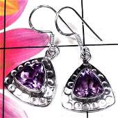 Natural AAA Amethyst Handcrafted Designer 925 Sterling