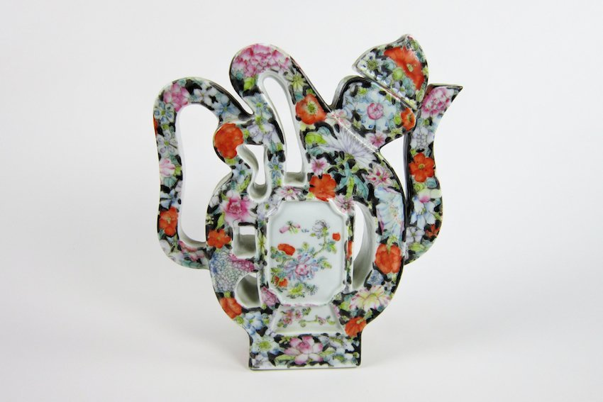 14: Japanese Floral Decorated Teapot