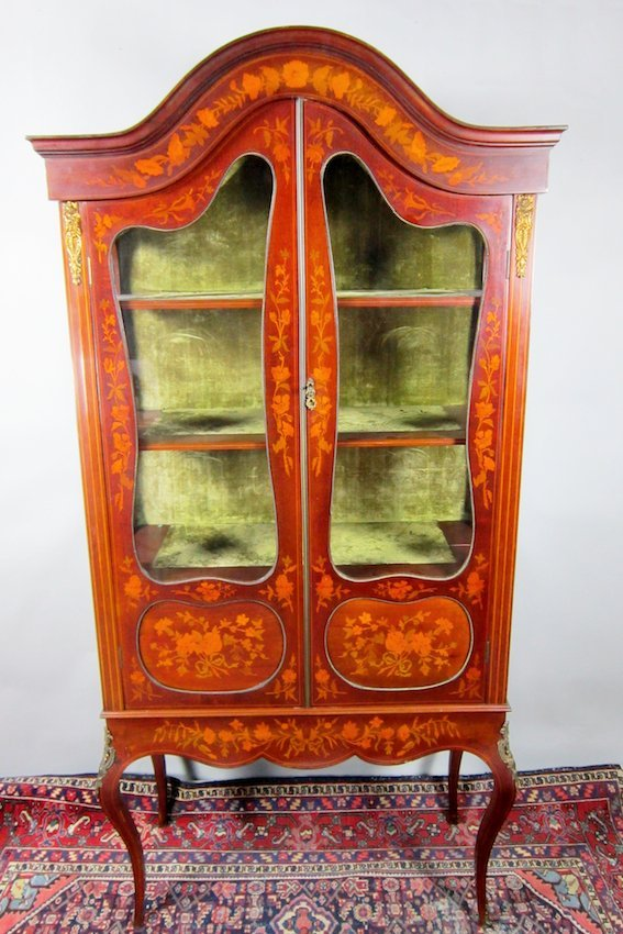 24: French-Influenced Display Cabinet