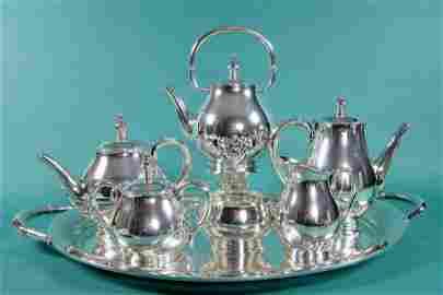 139: Seven-Piece International Sterling Silver Tea Set