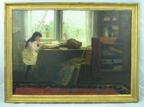 William Verplanck Birney (1858-1909), Oil on Canvas