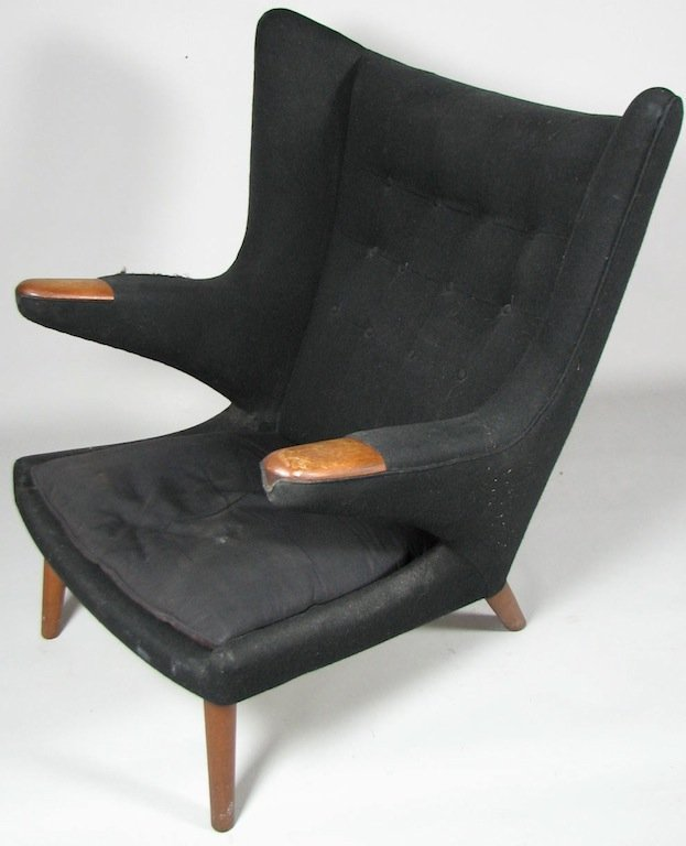 Mid-Century Danish Modernist Upholstered Armchair