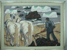 James (Edward) Fitzgerald (1899-1971), Oil on Canvas
