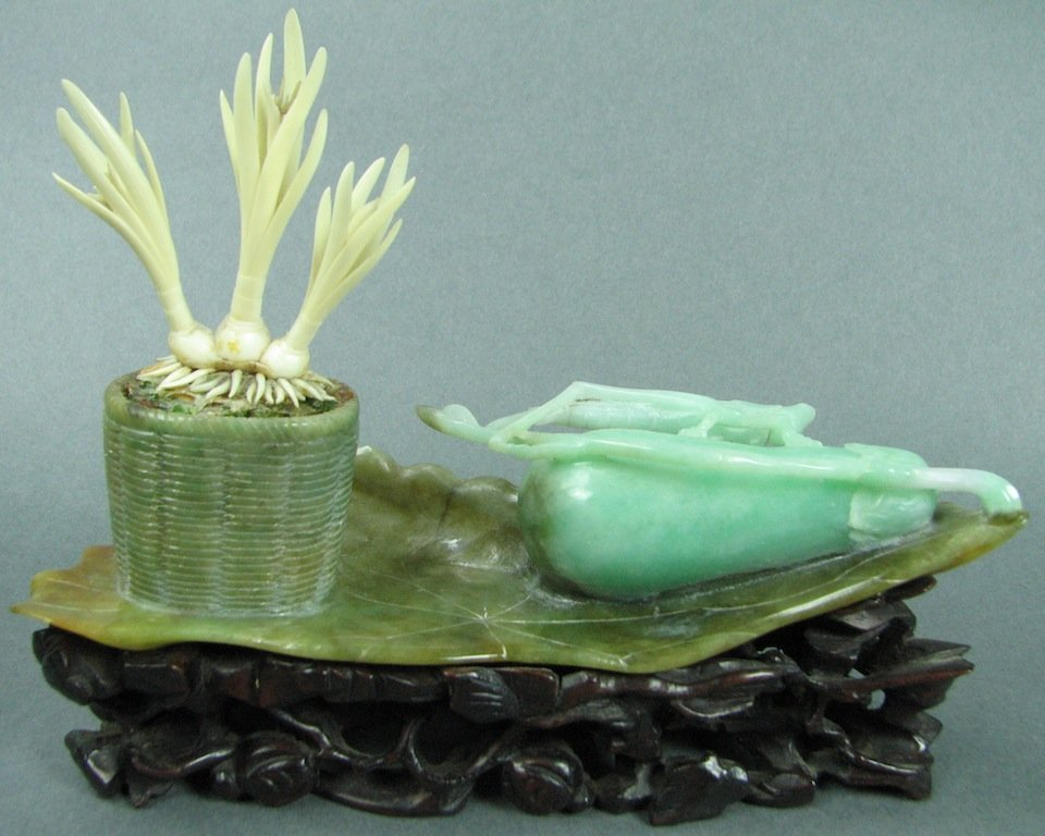 Carved Jadeite Group