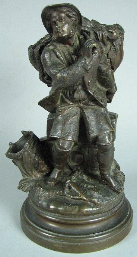 Bronze Sculpture Seated Figure