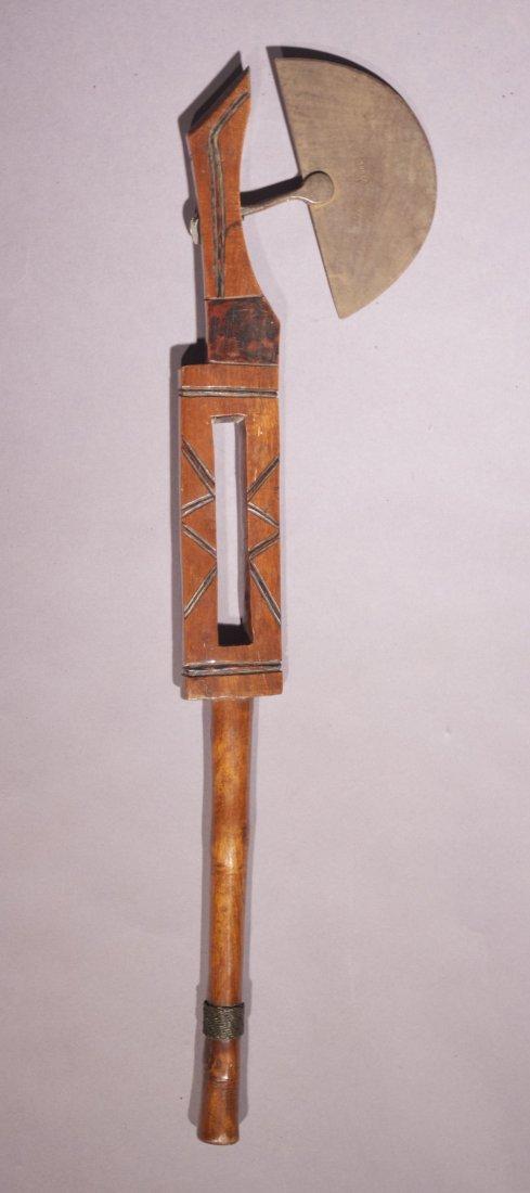 3: Zulu Ceremonial Axe