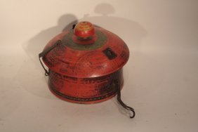 10: Rajasthan Pot with Lid