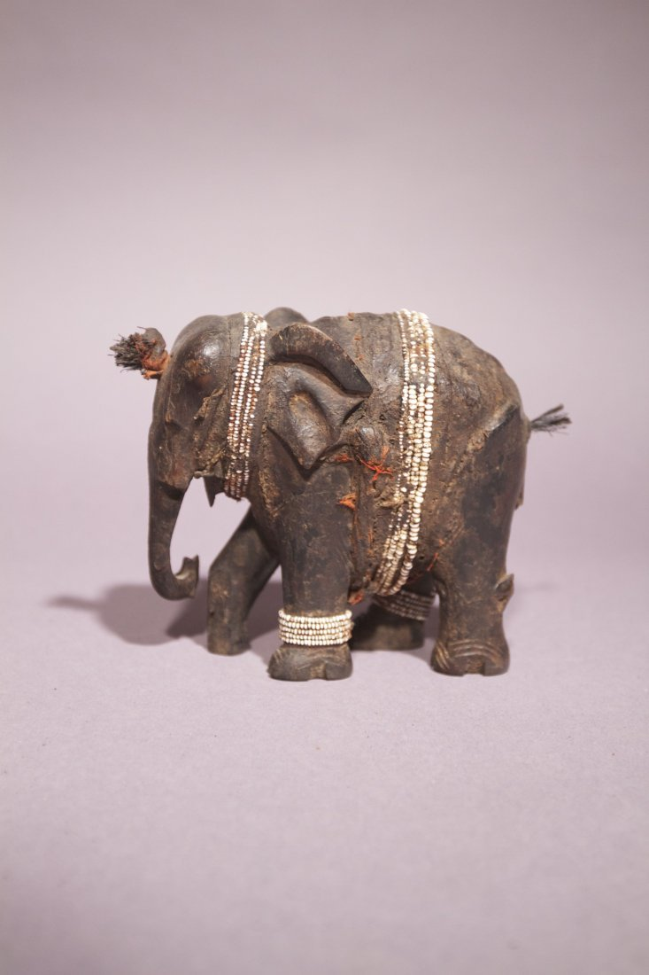 12:  Pare African Elephant with Beads