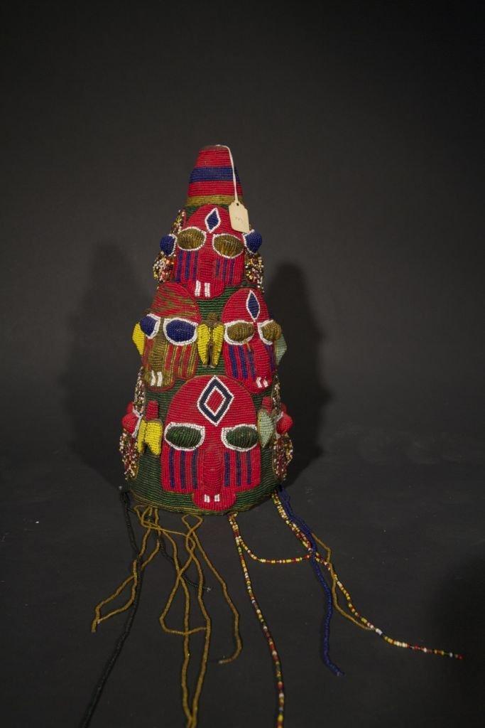 19: Yoruba Royal Beaded Crown