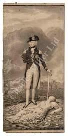 ATTRIBUTED TO HENRY EDRIDGE (BRITISH, 1768-1821) Nelson