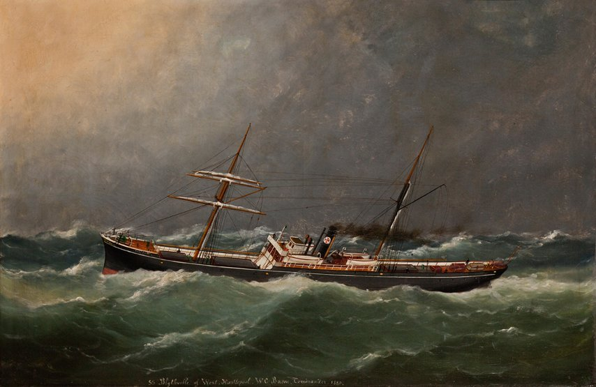 8: AFTER ANTONIO JACOBSON, 19TH CENTURY The S.S. Blythv