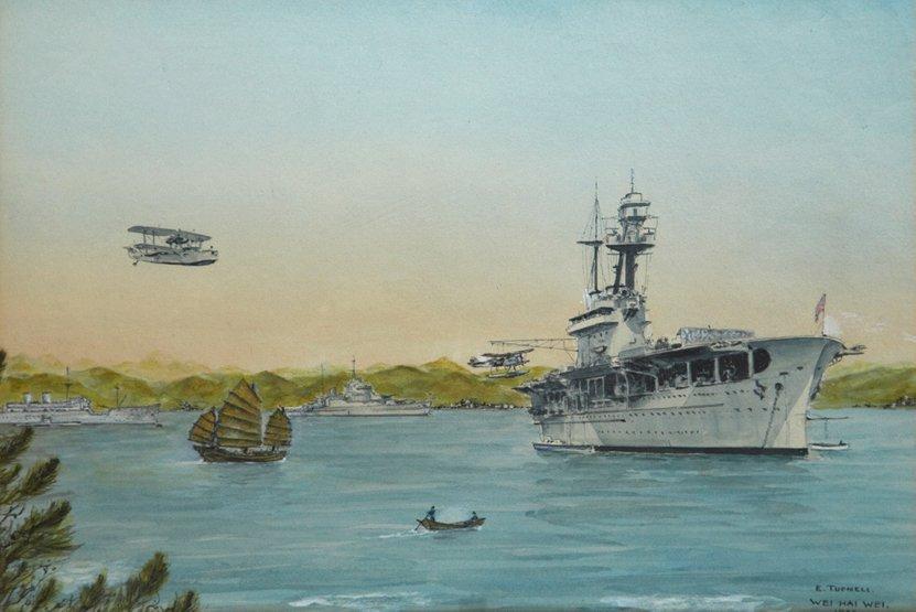 22: ERIC TUFNELL (BRITISH, 1888-1978) Wei Hai Wei - Jun