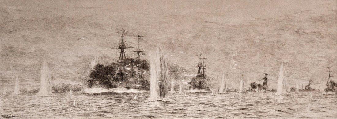 24: *H.E. FRECKER, 20TH CENTURY The Battle of Jutland S