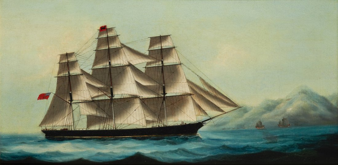 CHINA TRADE SCHOOL, 19TH CENTURY The 'Vigil' Sailing of