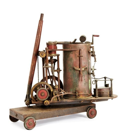 AN EARLY 20TH-CENTURY LIVE STEAM SPIRIT-FIRED SCALE MOD