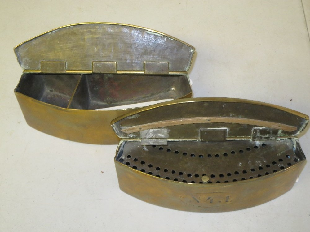 TWO IMPERIAL RUSSIAN NAVAL FUSE CONTAINERS - 5