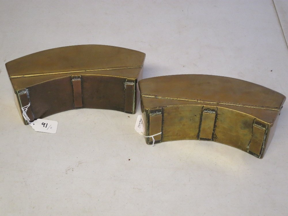 TWO IMPERIAL RUSSIAN NAVAL FUSE CONTAINERS - 6