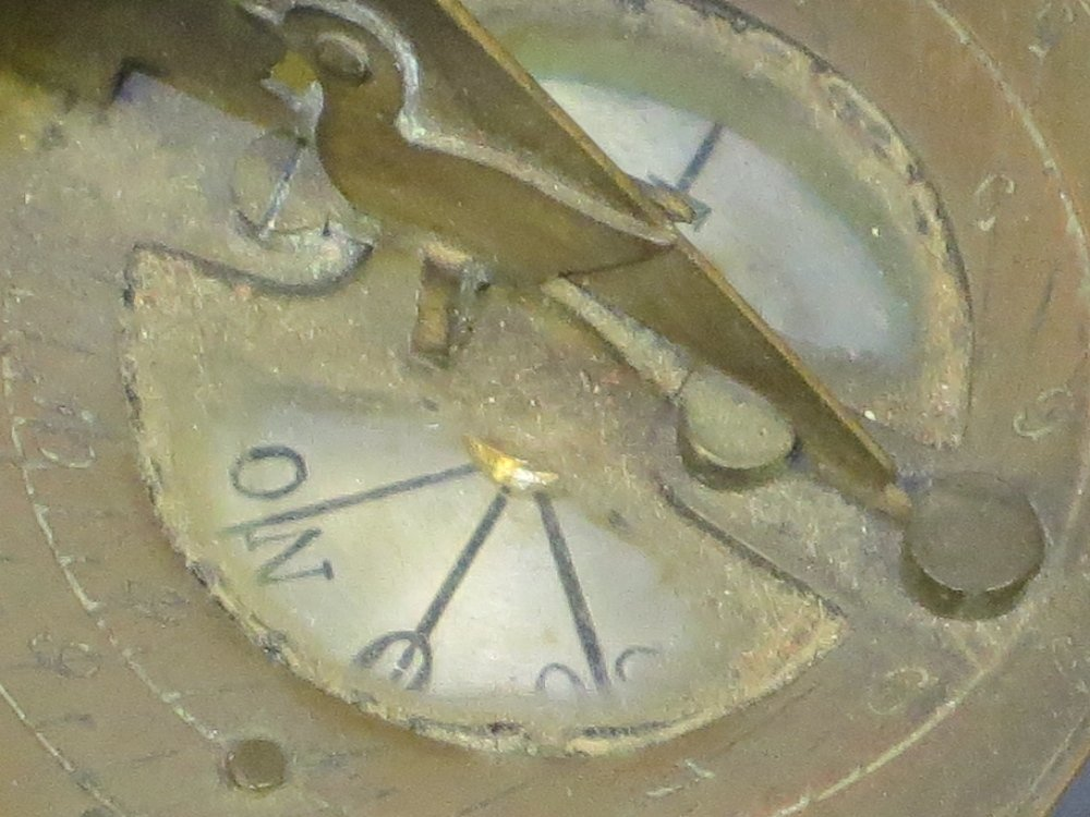 SMALL NOON DAY CANNON DIAL, PROBABLY FRENCH LATE 19TH-C - 4