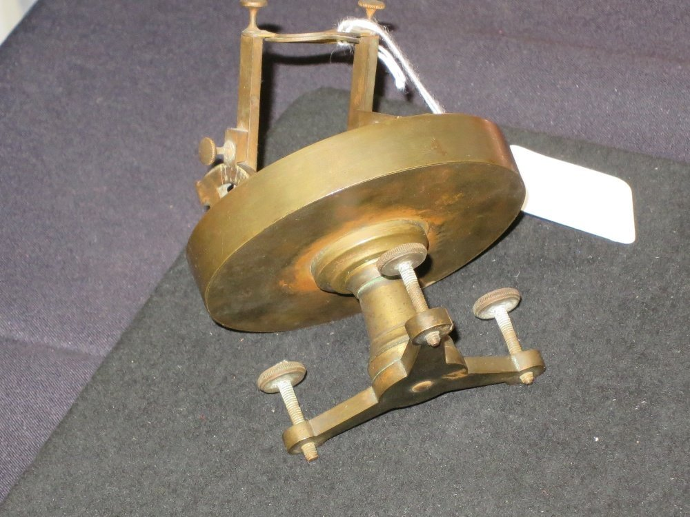 SMALL NOON DAY CANNON DIAL, PROBABLY FRENCH LATE 19TH-C - 5