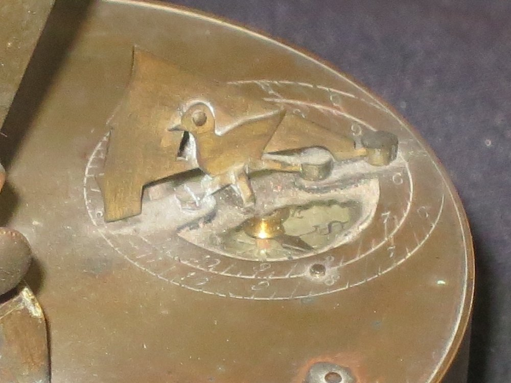 SMALL NOON DAY CANNON DIAL, PROBABLY FRENCH LATE 19TH-C - 7