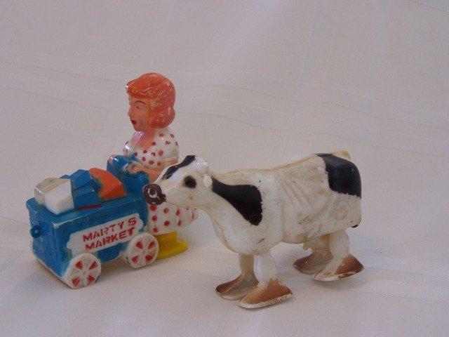Ramp Walkers  Marx Toy Martys Market plus Cow